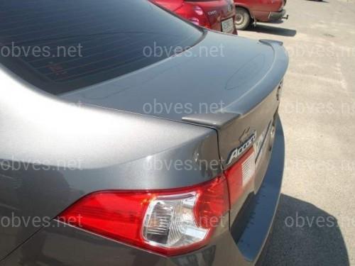 Спойлер лип багажника Honda Accord CL-8 2008-2012 ABS пластик под покраску