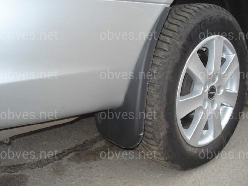 Брызговики Mercedes-Benz Vito/Viano W639 2003-2009 (комплект 4шт)