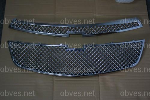 Решетка радиатора стиль Bentley Chevrolet Cruze 2009-2012