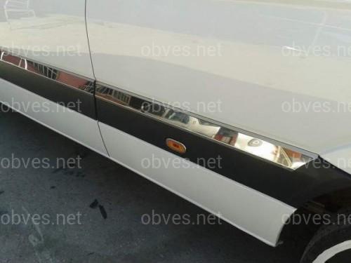 Хром молдинги Mercedes Sprinter 906 / Volkswagen Crafter ДЛИННАЯ БАЗА (нержавеющая сталь)