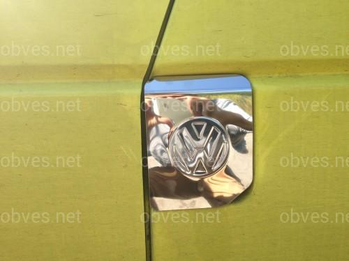 Хром накладка на лючок бака Volkswagen T4 1991-2003  (нержавеющая сталь)