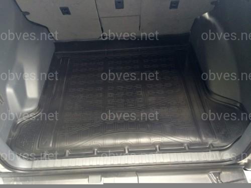 Коврик багажника полиуретановый Norplast Toyota Land Cruiser Prado 150 2010-2017  5 местный