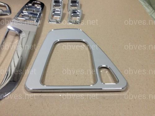 Комплект хром накладки в салон Wellstar BMW 3 seria E90