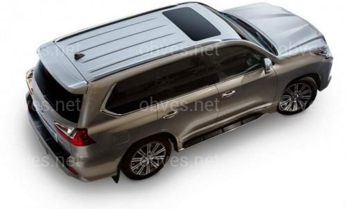 Рейлинги на крышу Lexus LX570 450d / Toyota LC 200