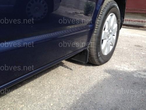 Брызговики Volkswagen T5 2003- / T6 2015- комплект 4шт (передние + задние)