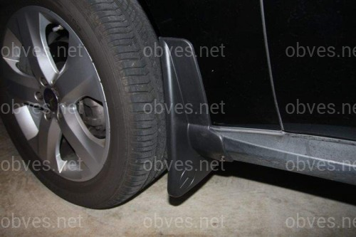 Брызговики Mercedes Benz ML 164 2005-2010 (комплект 4шт) без порогов