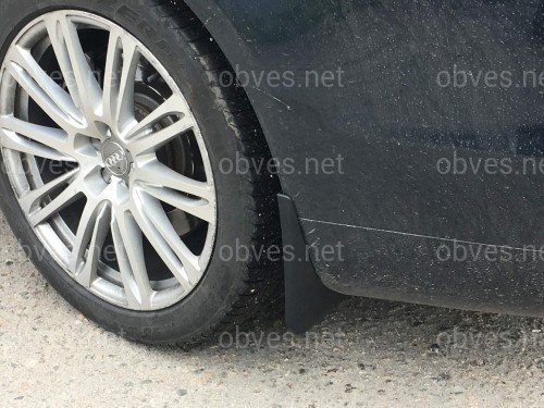 Брызговики Audi A8  2010- комплект 4 шт.
