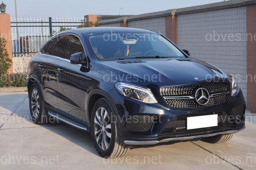 Подножки Mercedes-Benz GLE COUPE C292 2015-