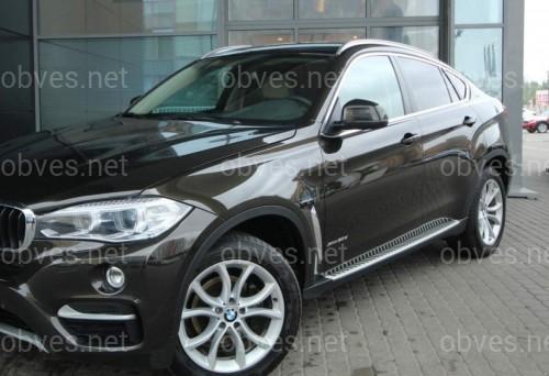 Подножки BMW X6 F 16 2014-