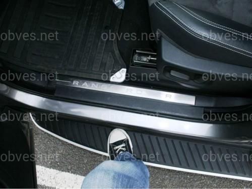 Пороги боковые Land Rover Range Rover Sport 2005-2012 оригинальный дизайн