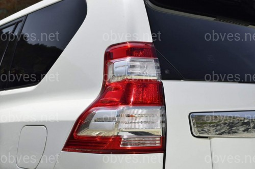 Задние рестайлинговые светодиодные фонари Toyota Land Cruiser Prado 150 2009-2017 (2шт)