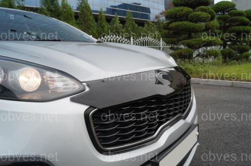 Дефлектор капота EGR Kia Sportage 2016-