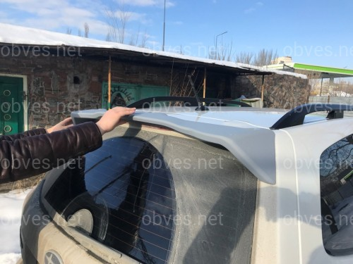 Спойлер козырек Subaru Forester 2013-2018 ABS пластик под покраску