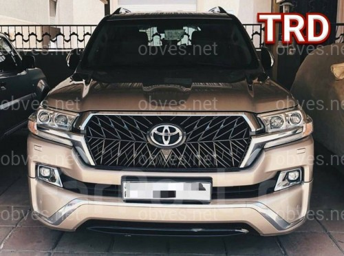 Решетка радиатора TRD Toyota Land Cruiser 200 2016-
