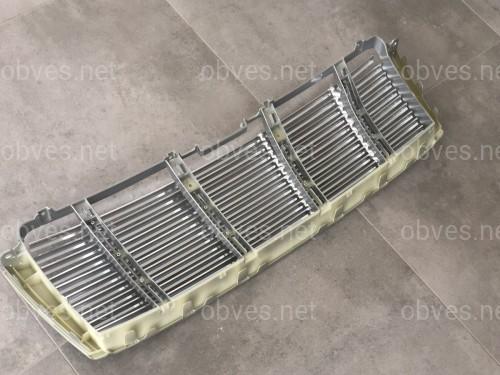 Решетка радиатора алюминиевая Toyota Land Cruiser 150 Prado 2009-2013 окантовка серебристая