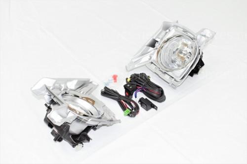 Противотуманные фары Toyota Land Cruiser 200 рестайлинг 2012 (полный установочный комплект)