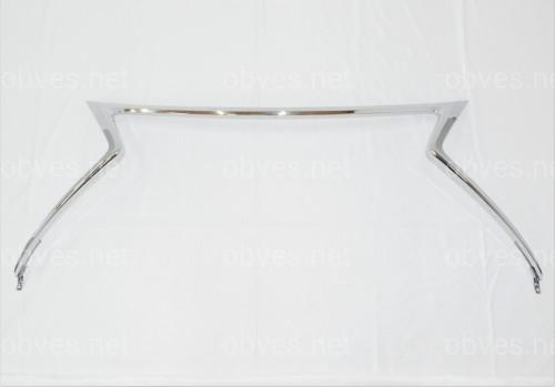 Хром окантовка решетки Lexus NX 2014-