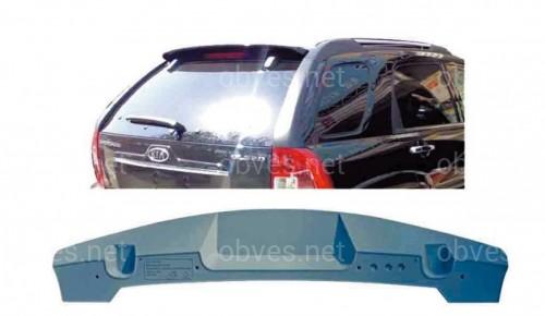 Спойлер козырек Kia Sportage 2004-2009 ABS пластик под покраску