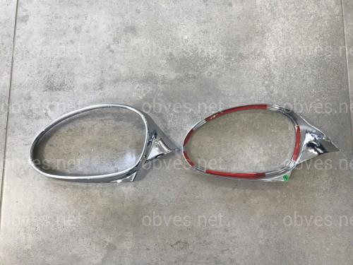 Хром окантовка зеркал BMW 3 series E90 2005-2011
