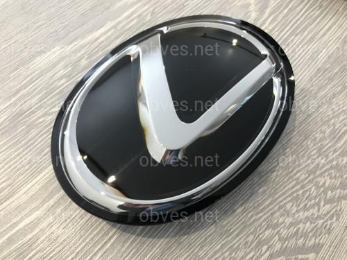 Эмблема под стеклом Lexus RX рестайлинг 2012