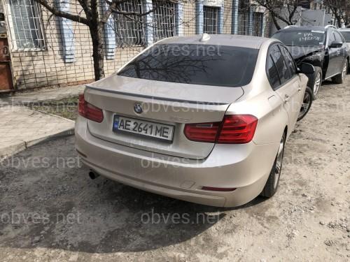 Спойлер лип багажника BMW F30 2013-2018 АBS пластик под покраску