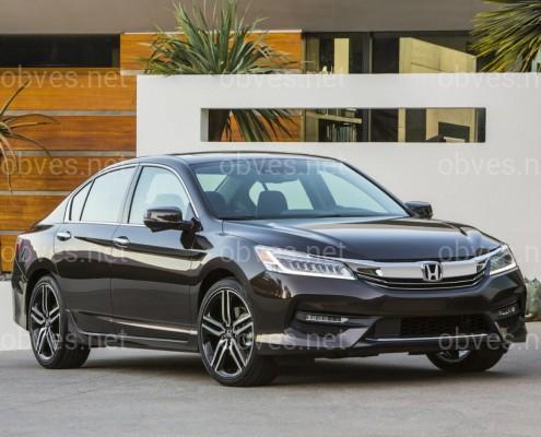 DRL  ходовые огни Honda Accord 9 USA 2015-2017