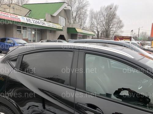 Рейлинги на крышу Honda Hrv 2015+ качество оригинала (алюминий 2шт.)