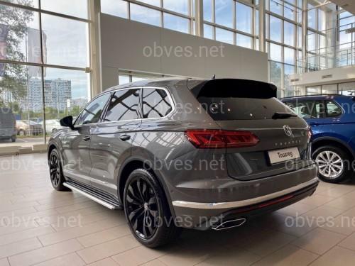 Пороги боковые Volkswagen Touareg 2010-2017 2шт. дизайн и качество оригинала
