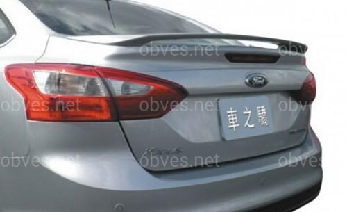 Спойлер багажника Ford Focus 2011-2014 ABS пластик под покраску