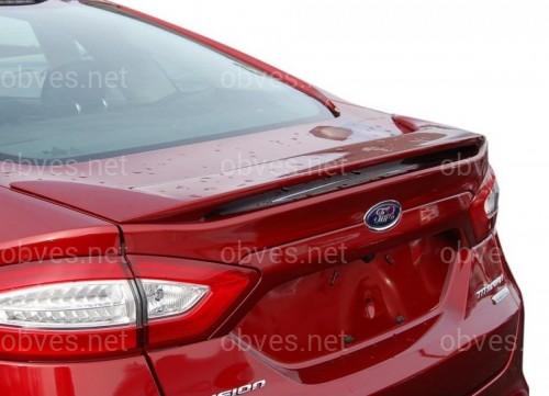 Спойлер багажника Ford Mondeo / Fusion 2013-2020 ABS пластик под покраску