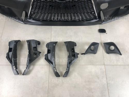 Бампер передний F-sport Lexus IS 2014-2017 (комплектный)