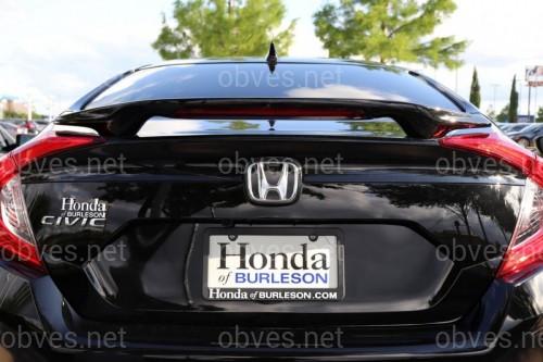 Спойлер багажника Honda Civic 2016- ABS пластик под покраску