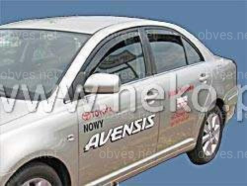 Дефлекторы окон вставные Heko Toyota Avensis 1997-2003 2 шт. перед