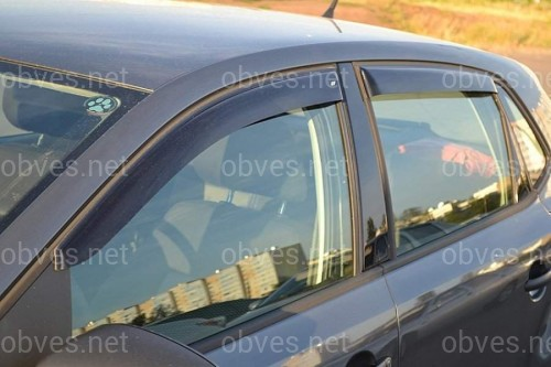 Дефлекторы окон Cobra Tuning Volkswagen Polo V Hb 5d 2010-